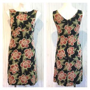 Tommy Bahama Floral Silk Stretch Dress Size 6
